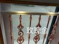 专业制作锌钢 白钢 铝合金护栏 铝艺大门免费测量