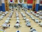 寒假那里有跆拳道班天虎国际跆拳道常年招生!