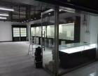 徐州专业定制展柜化妆品展柜玻璃展柜钛合金展柜