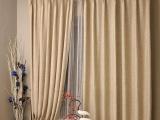 米色仿亚麻/加厚高档客厅卧室书房遮光窗帘