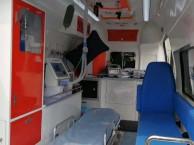 宁德救护车出租电话,正规120救护车