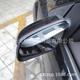卡罗拉汽车专用后视镜注塑雨眉 倒车镜遮雨挡板 透色一对装