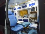 福特救护车转运,移动ICU呼吸机监护仪,每公里6元