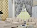北欧美式布艺沙发
