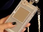 苹果镶钻香水瓶手机壳iphone4/4s手机壳iPhone5/5S手机保护壳套