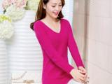 日韩女装一件代发免费代理韩国毛衣女V领马海毛打底针织衫女秋冬