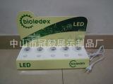 厂家直销 小型LED灯具展示架 LED灯展示架
