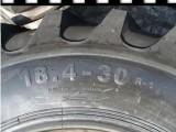 厂家整套批发含钢圈联合收割机轮胎18.4-30送内胎