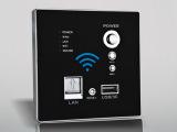 新品发布 墙壁式无线路由器 86型带无线路由器 优质无线网络设备