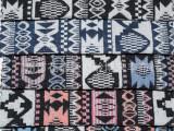 现货供应 民族风色织提花布料 沙发背包鞋