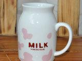 zakka杯子批发卡通创意陶瓷牛奶杯彩色斑点杯子 厂家直销