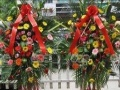 绿色植物礼仪花束开业花篮会议台花会场布置婚庆礼仪