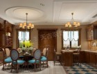 东海定南山联排别墅装修 别墅简约美式风格设计