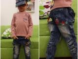 秋款童裤牛仔裤 牛仔童裤 新款中童牛仔裤