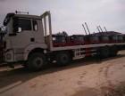目前市场上较大动力的挖机平板运输车!-陕汽德龙