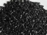 黑色HDPE再生料,低压pe机油壶造粒