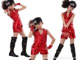 儿童现代舞蹈演出服装动感男女表演出装套装少儿爵士舞表演服