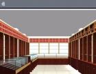 廊坊商场木质展柜店铺精品钛合金展示架钛合金茶具展柜