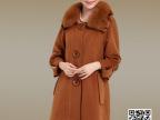 厂家直销批发GUCIUME女士大衣 女式欧美大牌时尚羊绒大衣风衣