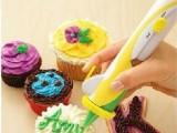 电动蛋糕裱花器/挤奶器/蛋糕裱花笔/DIY裱花器/tv购物产品