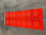 廣州市不褐色萬年紅紙對聯手寫瓦當春聯廠家直供
