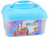 智博乐磁力棒正品131007城堡 玩具智力拼装积木 六一儿童生日