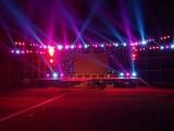 天津展位背景板搭建灯光音响舞台大屏启动球电视拱门空飘租赁