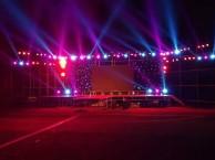 天津礼仪主持灯光音响舞台大屏启动球租赁背景板搭建开业庆典
