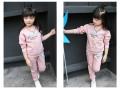 江苏秋季童装批发一手货源最便宜时尚儿童套装打底衫批发厂家直销