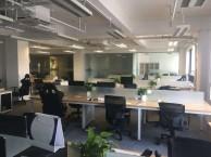 求租出租写字楼带装修隔断整层办公室紧靠地铁10号线,看房方便