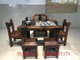 老船木书房卧室系列客厅系列餐厅系列 办公系列实木家具茶台组合