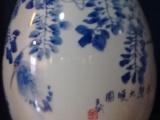 景德镇陶瓷瓶花瓶摆件批发价格加工陶瓷大花瓶书画缸定制图片