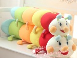 纳米粒子大肥虫毛毛虫公仔午休夏凉泡沫粒子枕填充玩具宝宝玩具