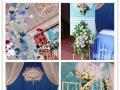 大理南诏新娘婚礼策划蓝色系