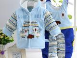 男女宝宝婴幼新生儿童棉服婴儿棉衣外套装加