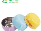 厂家直销儿童304不锈钢卡通碗 婴儿防烫防摔碗单耳 浙江省台州市