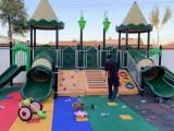 16件碳化组合攀爬架 幼儿园碳化防腐积木 可凡户外碳化积木