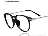 厂家眼镜批发新款复古百搭平光镜 超轻超薄金属近视眼镜框架镜