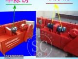 全自动架子管矫直机 除锈刷漆多功能钢管调直机