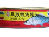 金樱花金装豆豉鱼罐头 豆豉鲮鱼罐头户外佳品  207克
