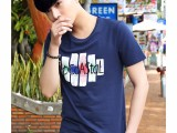 3.9块男装韩版热销纯棉短袖 独立包装 可货到付款