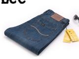 EE夏季超薄款牛仔裤 超薄软料 高档水洗 男式牛仔裤 818男夏