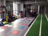 健身房地膠安裝固定 健身房地膠墊好鋪