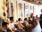 专业艺术家指导素描水彩儿童创意手工美术课