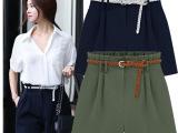 2014新款欧美大码女装短裤 胖mm潮流休闲热裤XL-5XL修身