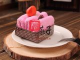 蛋糕创意礼品毛巾厂家批发 圣诞礼品 生日礼物 精装慕斯GS63