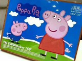 世界知名颜料品牌温莎牛顿 小猪佩奇6 1儿童节合作系列画笔