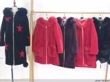 品牌折扣女装羊剪绒当季新款尾货批发 羊剪绒澳洲进口货源分份
