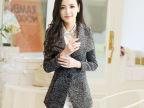 毛呢外套女韩版2014秋装新款中长款呢子外套女呢大衣
