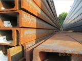 忻州英标槽钢库存充足 PFC260+75直腿进口槽钢现货出售